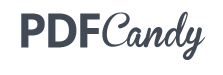 Logiciel en ligne PDF Candy