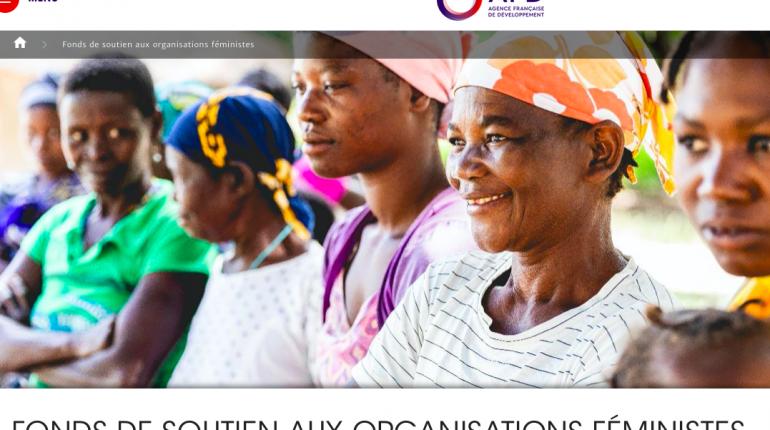 Appel à projets du Fonds de soutien aux organisations féministes