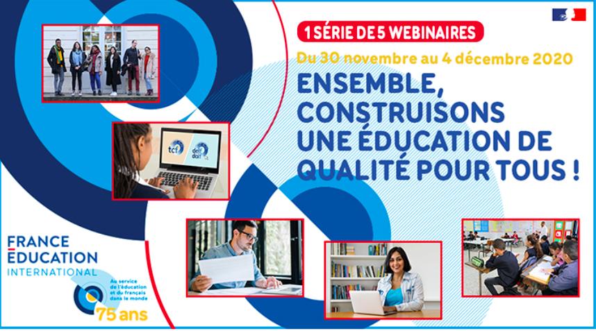 Webinaires de France Education International