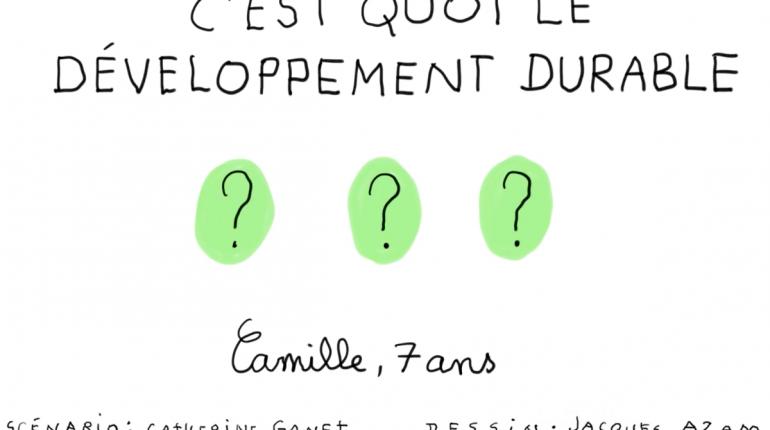 C'est quoi le développement durable ?