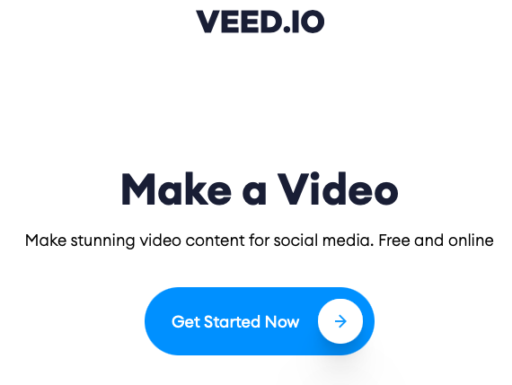 Veed - Logiciel de retouche vidéo