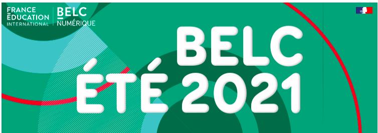 BELC numérique été 2021