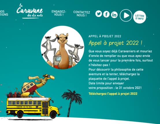 La Caravane des 10 mots 2022