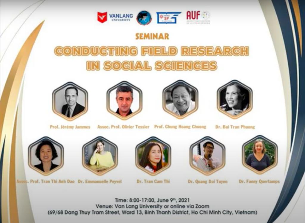 Séminaire Faire du Terrain en Sciences Sociales