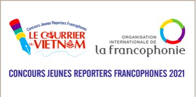 Concours Jeunes Reporters Francophones 2021