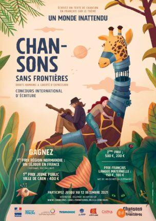 Affiche 16e édition Chansons sans frontières