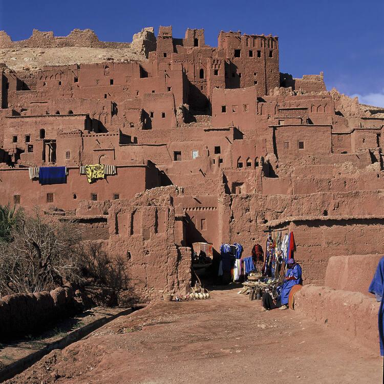 Ksar d'Aït-Ben-Haddou (Maroc) © Yvon Fruneau