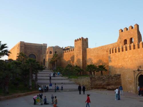 Ville de Rabat, Casbah des Oudaias, de Véronique Dauge, © UNESCO.
